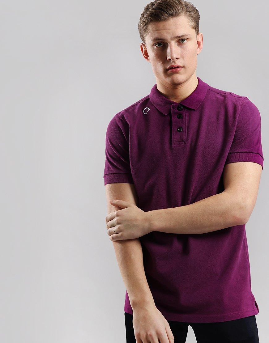 MA.Strum Pique Polo Shirt Ultraviolet
