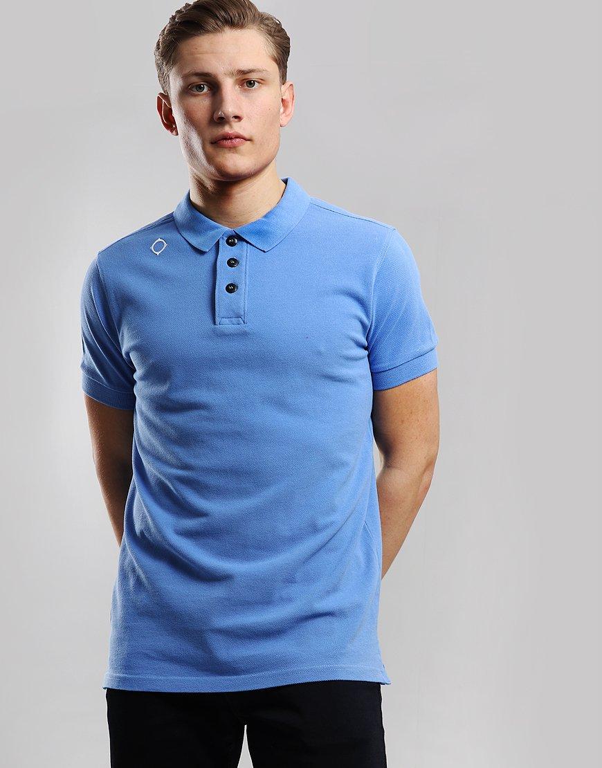 MA.Strum Pique Polo Shirt Vallarta Blue