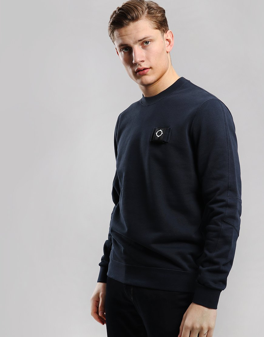 MA.Strum Training Crew Sweat Dark Navy