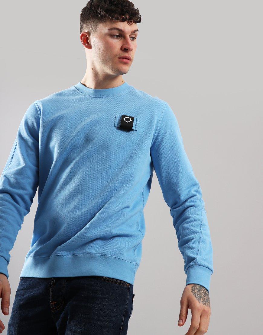 MA.Strum Training Crew Sweatshirt Dutch Blue