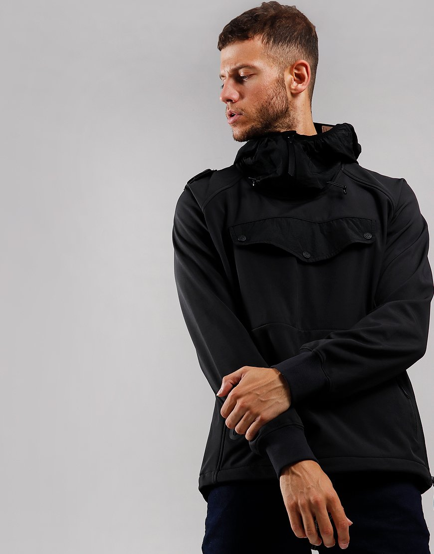 MA.Strum Velo Overhead Softshell Jacket Jet Black