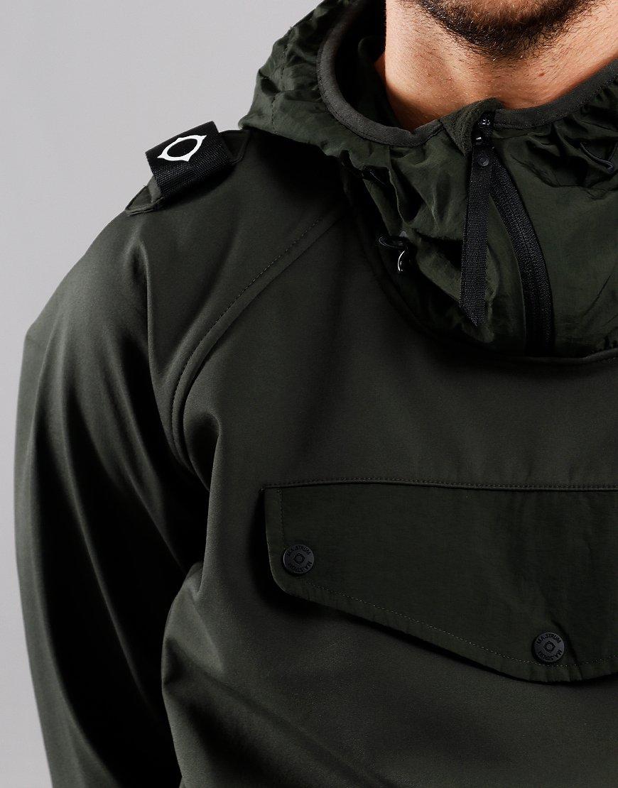 MA.Strum Velo Overhead Softshell Jacket Dark Khaki Green
