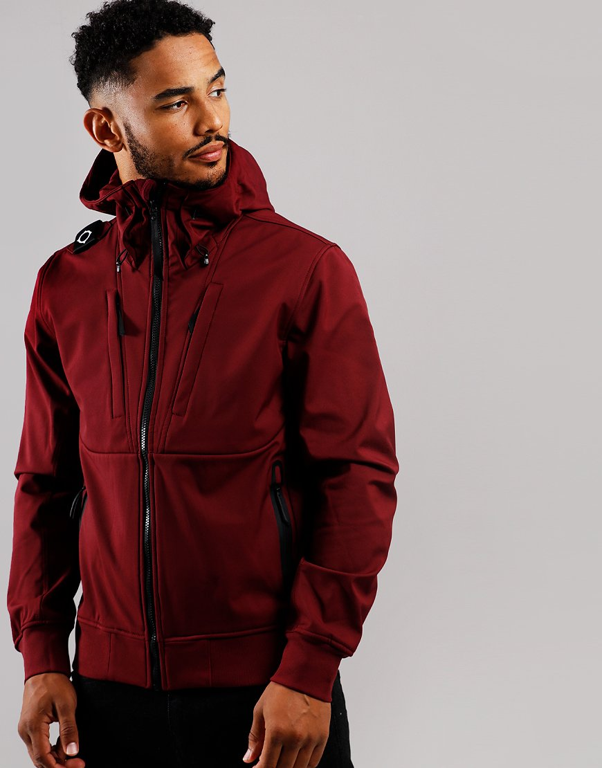 MA.Strum Velo Softshell Hooded Jacket Spartan Red