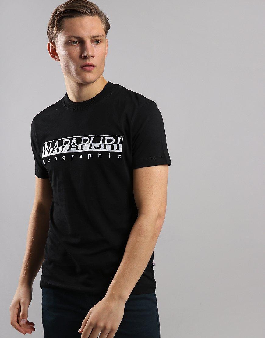Napapijri Serber T-Shirt  Black