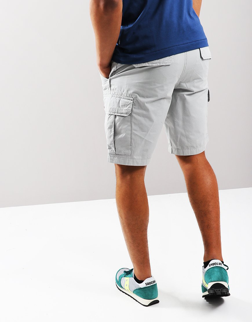 c417dc66757 Napapijri Noto 2 Cargo Short Light Grey Solid - Terraces Menswear