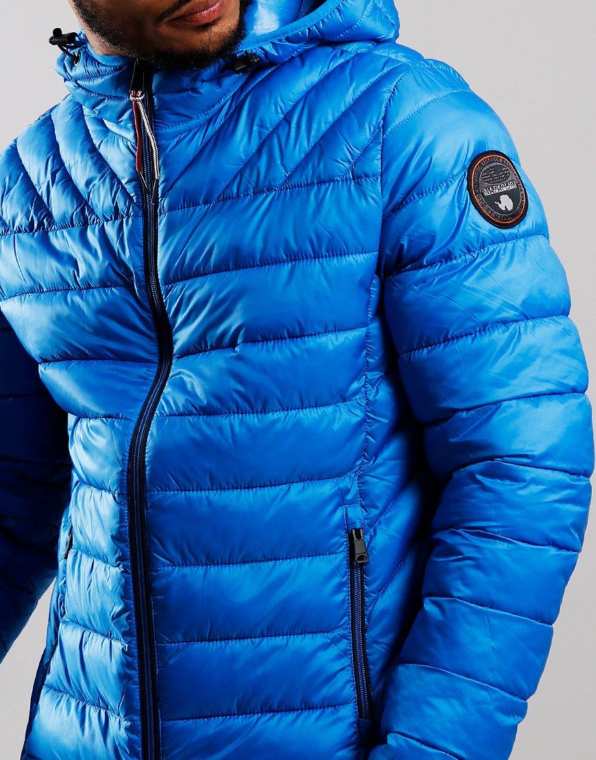 Napapijri Aerons Hooded Jacket French Blue