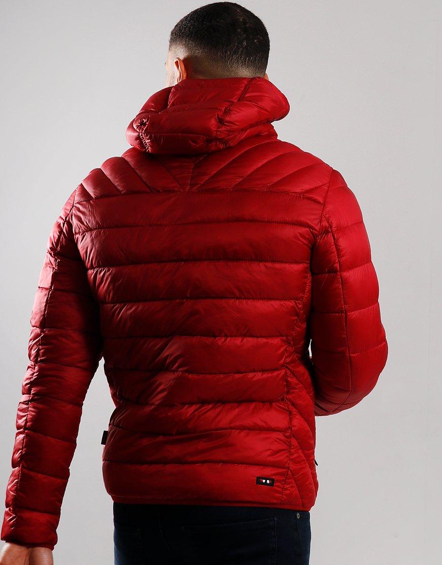 Napapijri Aerons Hooded Jacket Red Scarlet