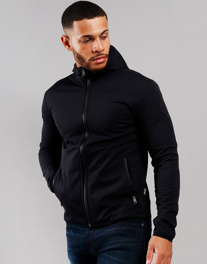 Napapijri Baunt Hooded Softshell Jacket Black