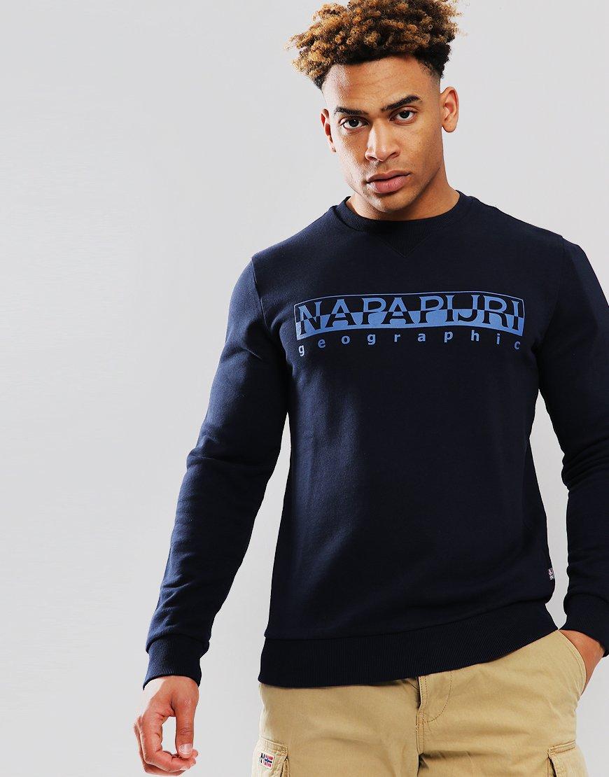 Napapijri Bevora Sweat  Blu Marine