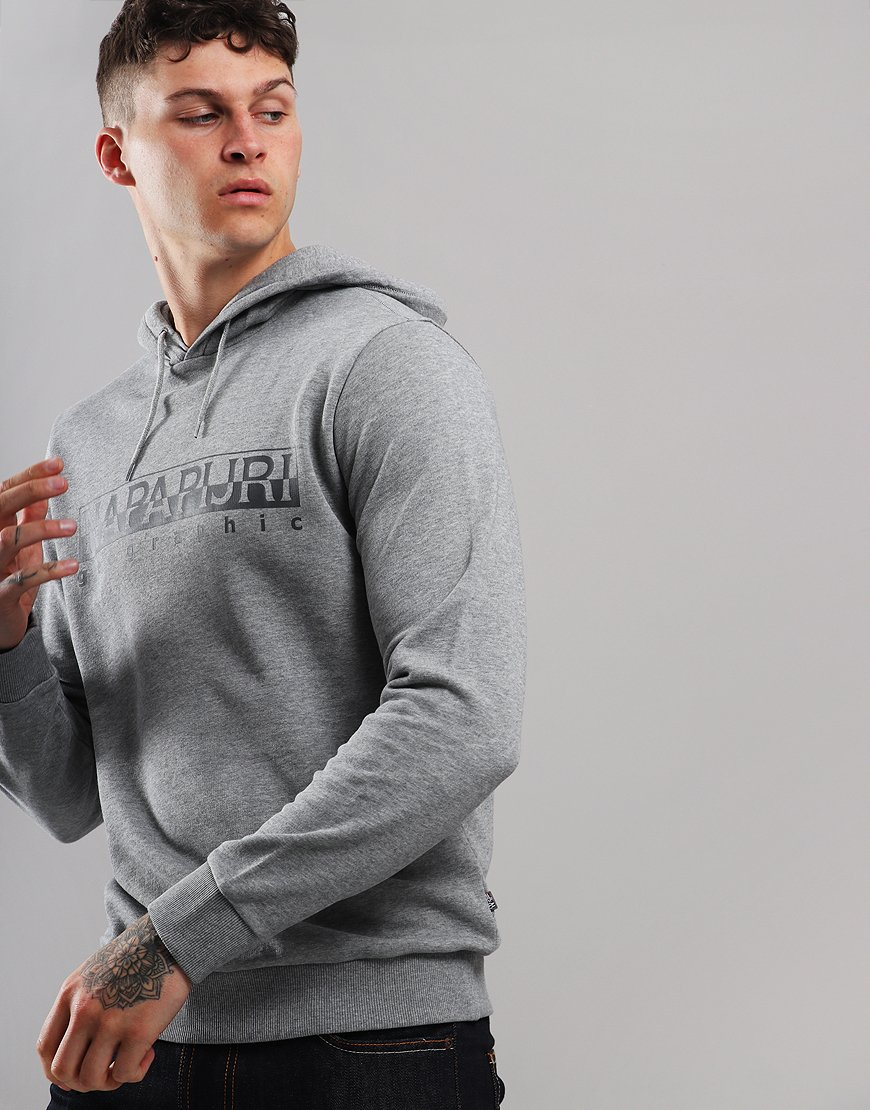 Napapijri Bevora Hoodie  Medium Grey Melange