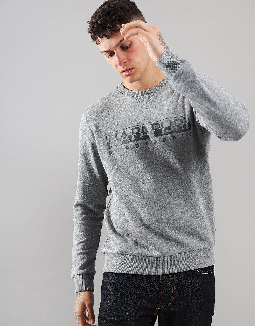 Napapijri Bevora Sweat Medium Grey Melange