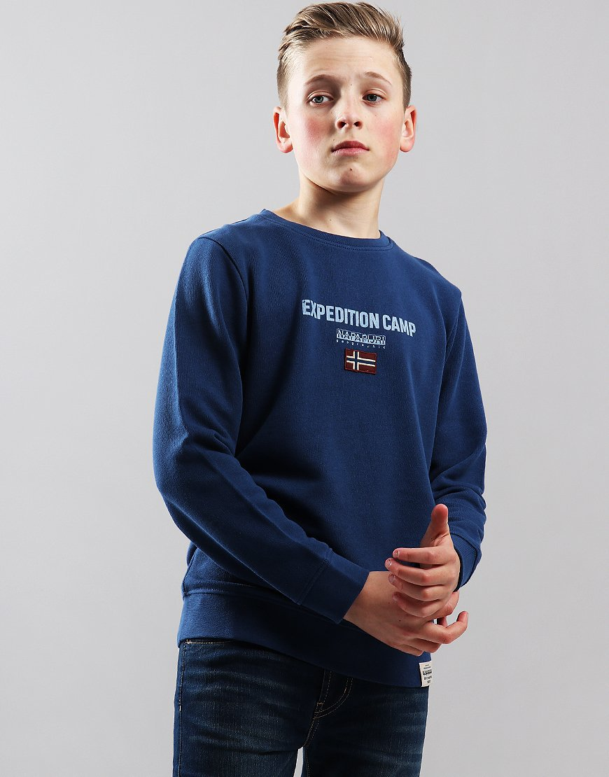 Napapijri Kids K Bonthe Sweat Dark Denim