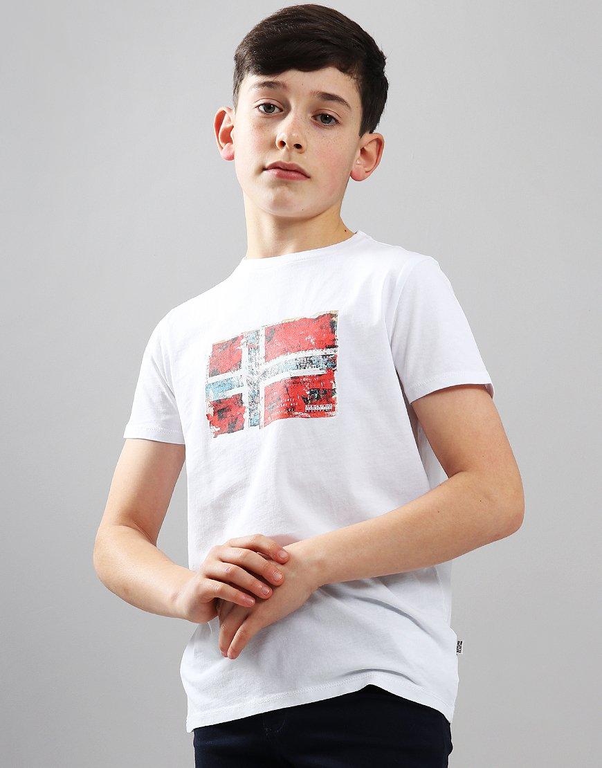 Napapijri Kids Seitem T-Shirt White