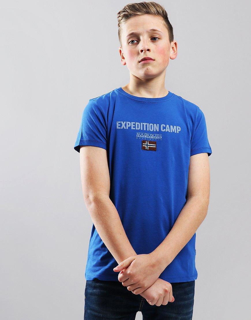 Napapijri Kids Sonthe T-Shirt Skydiver Blue