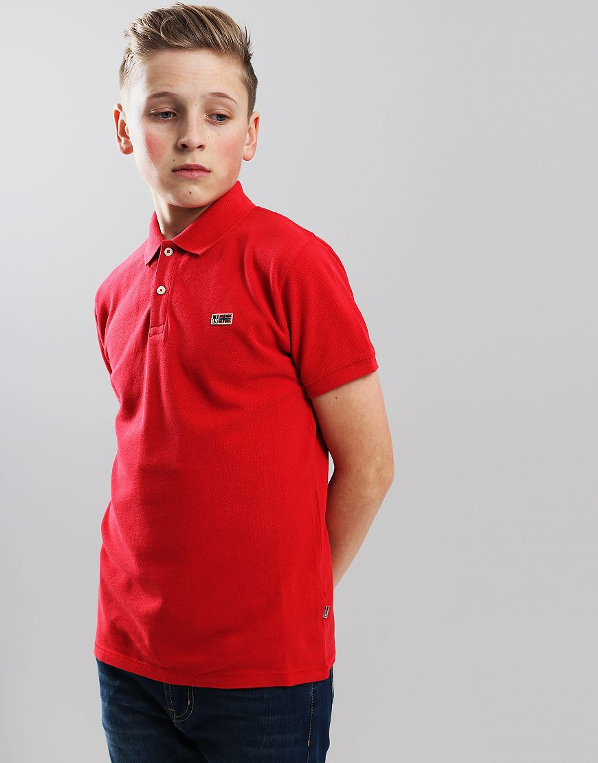 Napapijri Kids Taly 2 Polo Shirt True Red