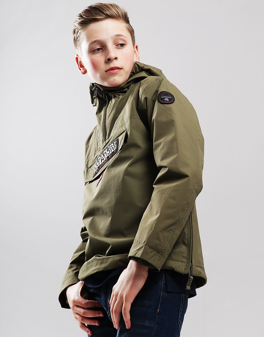Napapijri Kids Summer Rainforest Jacket New Olive Green