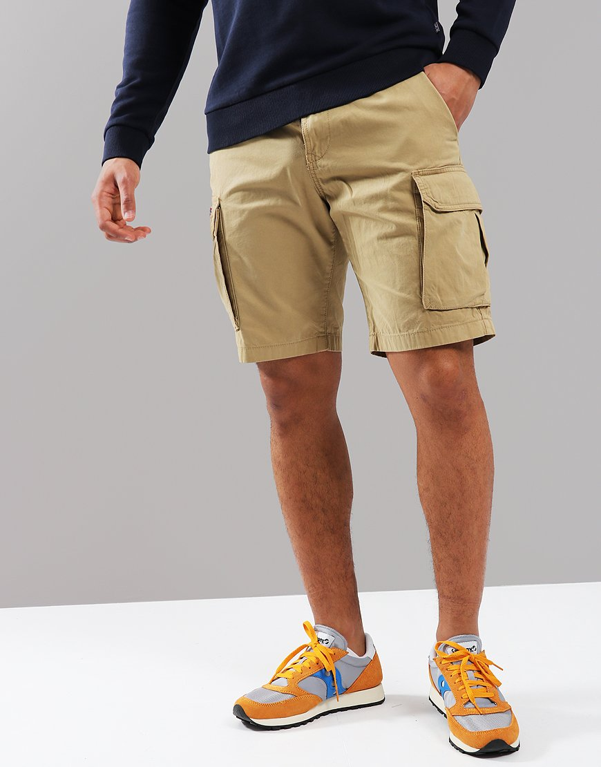 Napapijri Nore Bermuda Shorts Beige