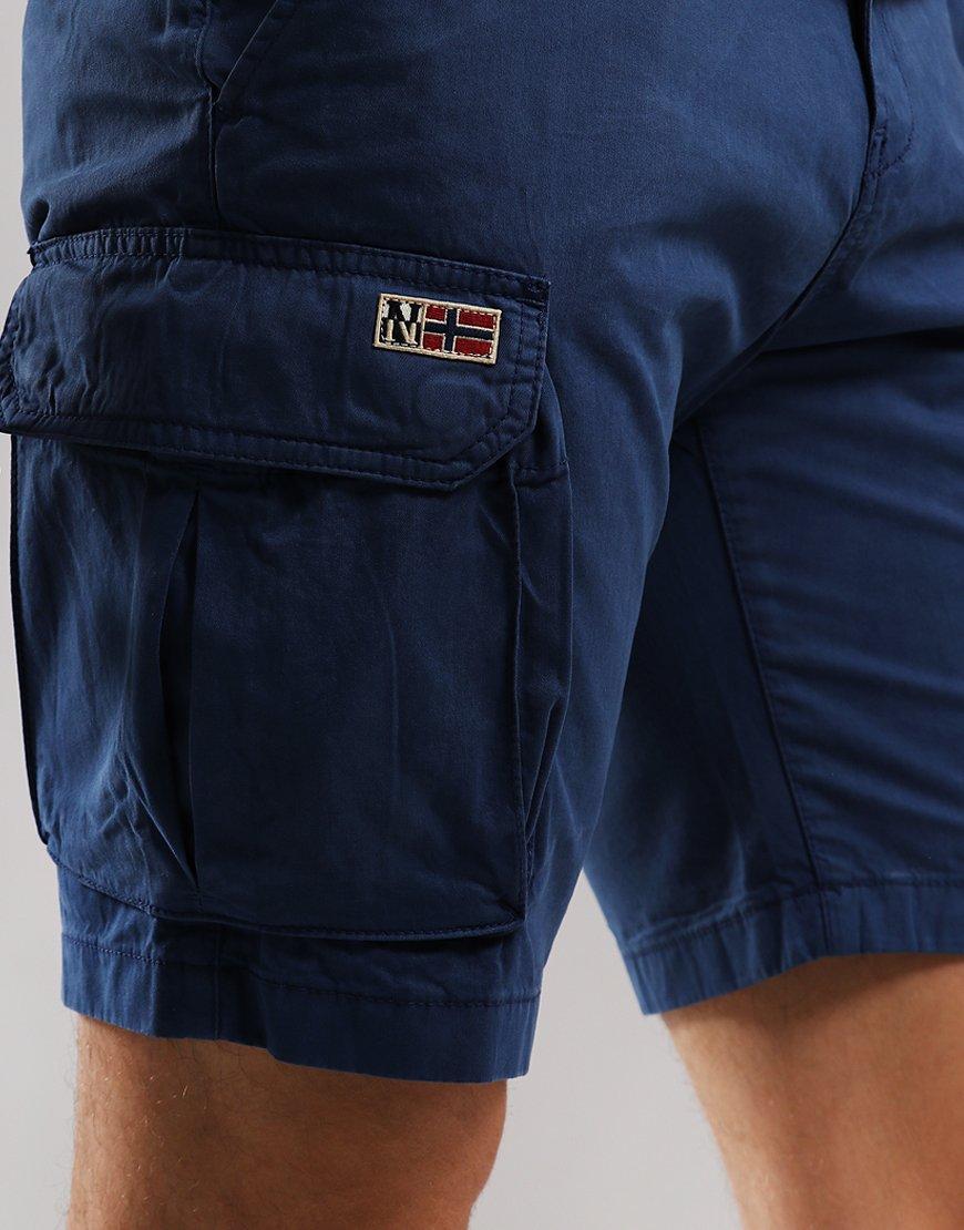 Napapijri Nore Bermuda Shorts Dark Denim