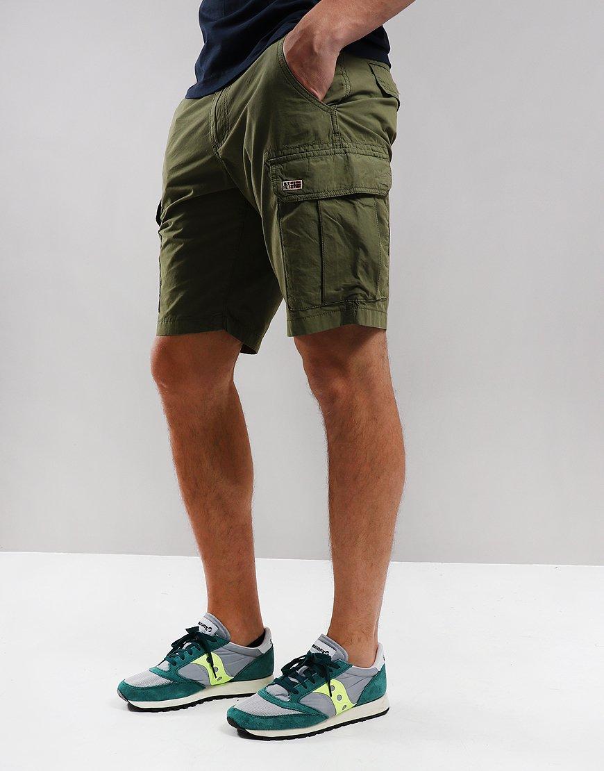 Napapijri Noto 2 Cargo Shorts New Olive Green