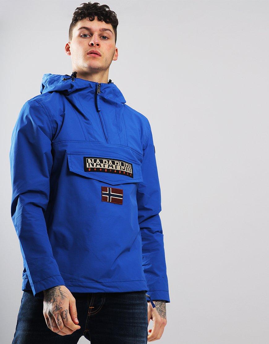 cc25c3d03b093 Napapijri Rainforest Summer Jacket Skydiver Blue - Terraces Menswear