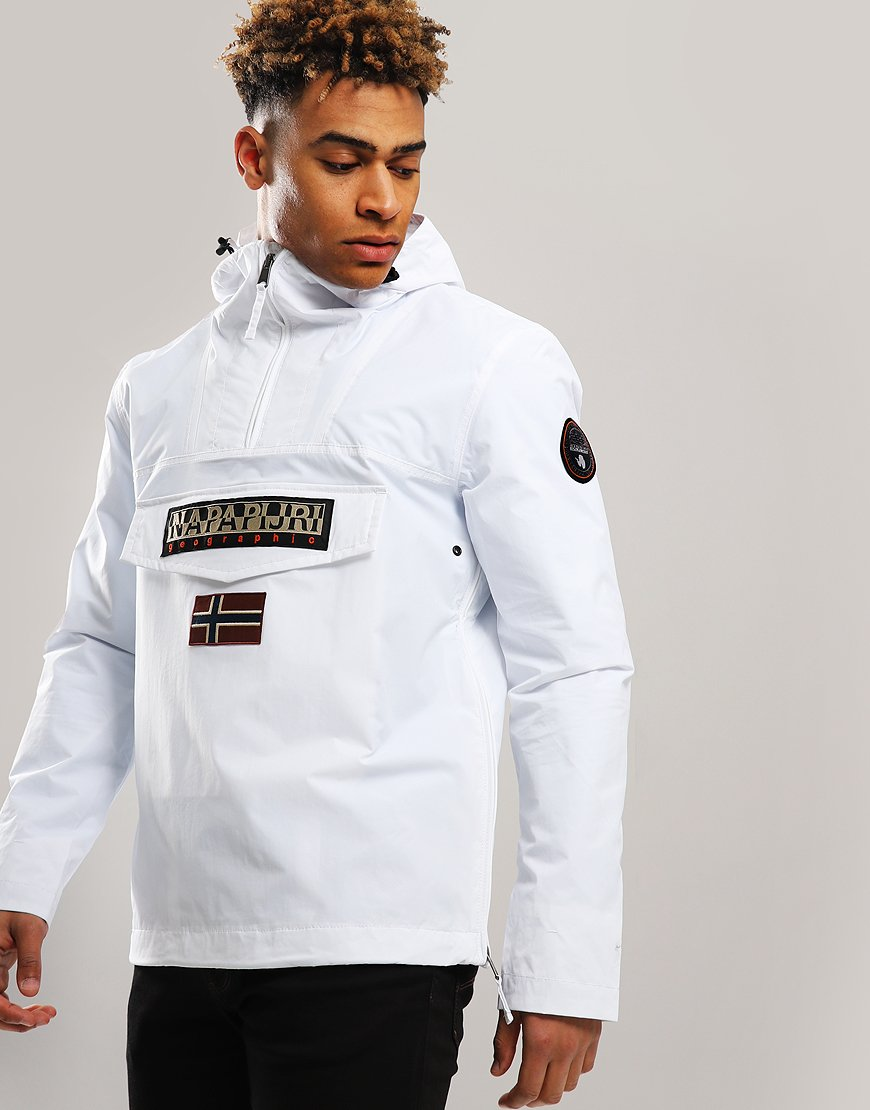 Napapijri Rainforest Summer Jacket Bright White