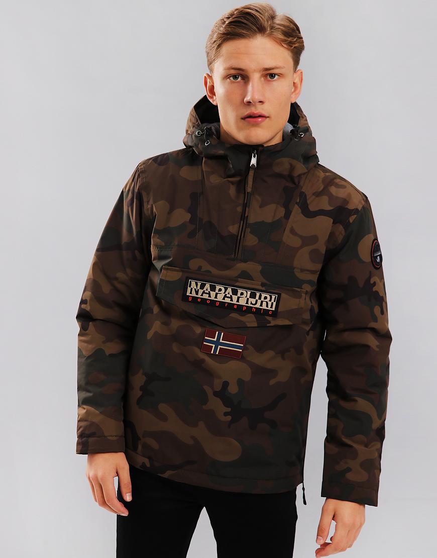 Napapijri Rainforest Winter Jacket F84 Fantasy Camouflage