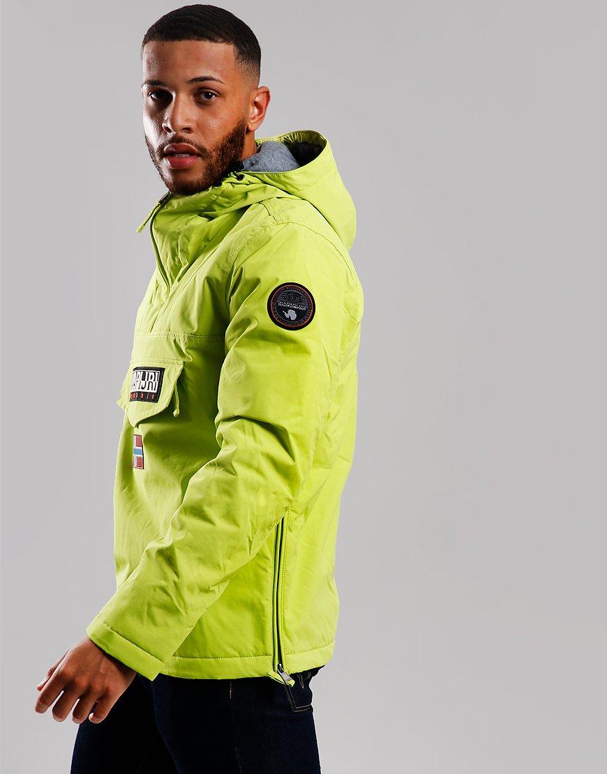 Napapijri Rainforest Winter Jacket Yellow Lime
