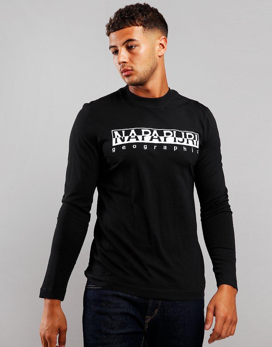 Napapijri Serber Long Sleeve T-Shirt Black