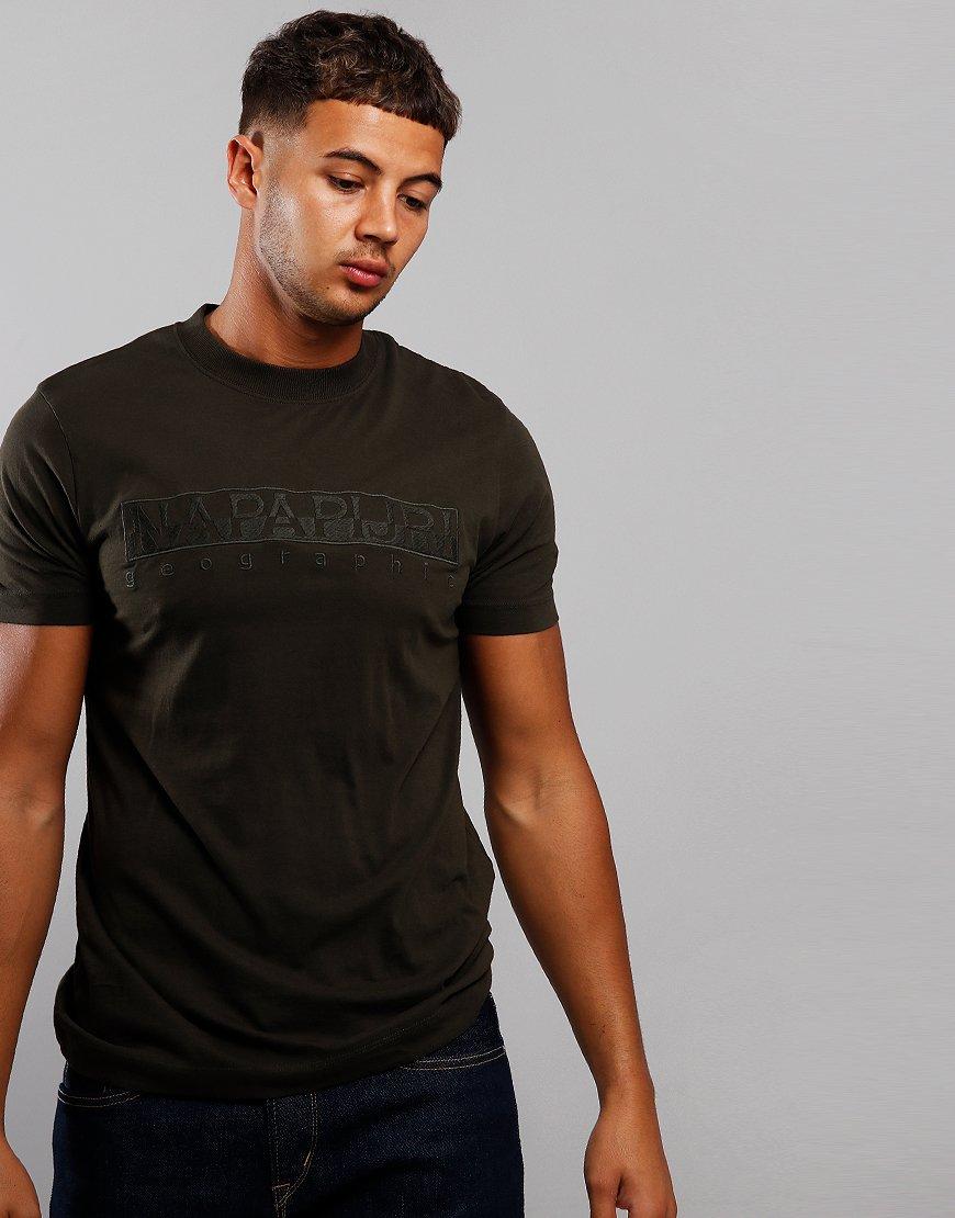 Napapijri Serber T-Shirt  Green Forest