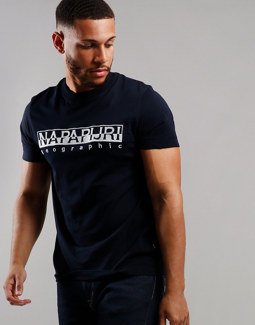 Napapijri Serber T-Shirt  Blue