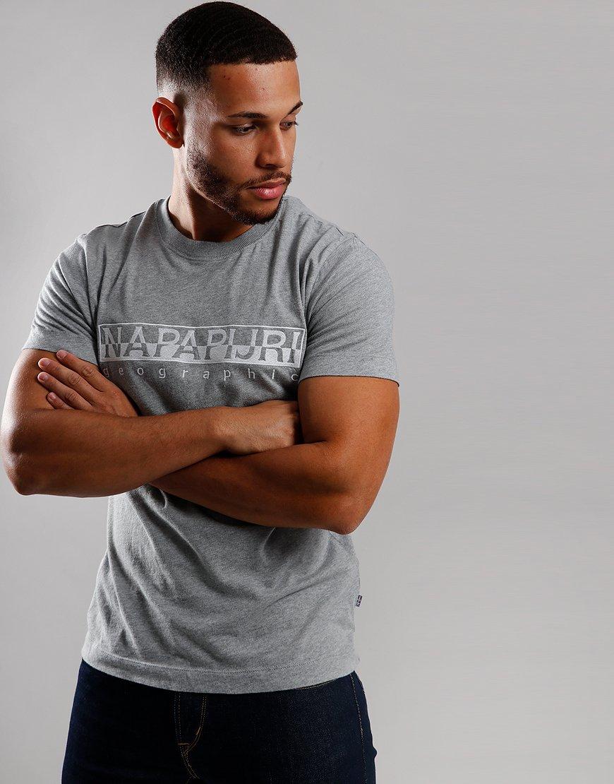 Napapijri Serber T-Shirt  Grey