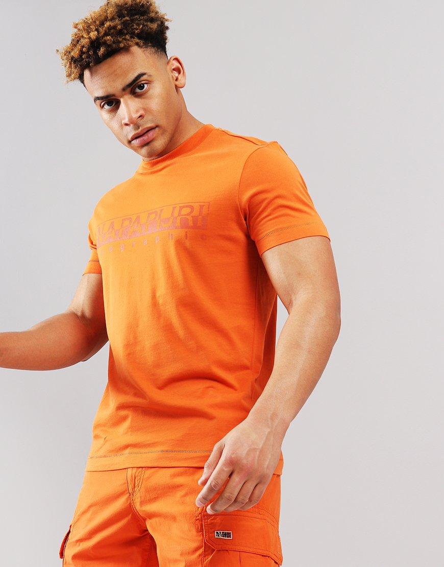 Napapijri Sevora  T-Shirt Amber Orange