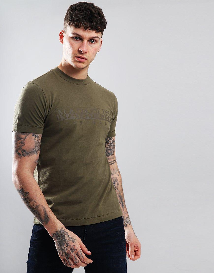 Napapijri Sevora T-Shirt New Olive Green