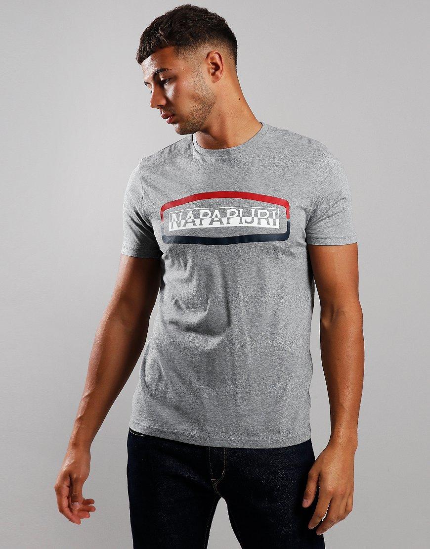 Napapijri Sogy T-Shirt Medium Grey