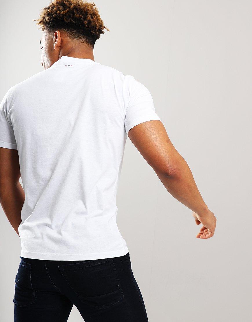 7e5f77b0985 Napapijri Sonthe T-Shirt Bright White - Terraces Menswear