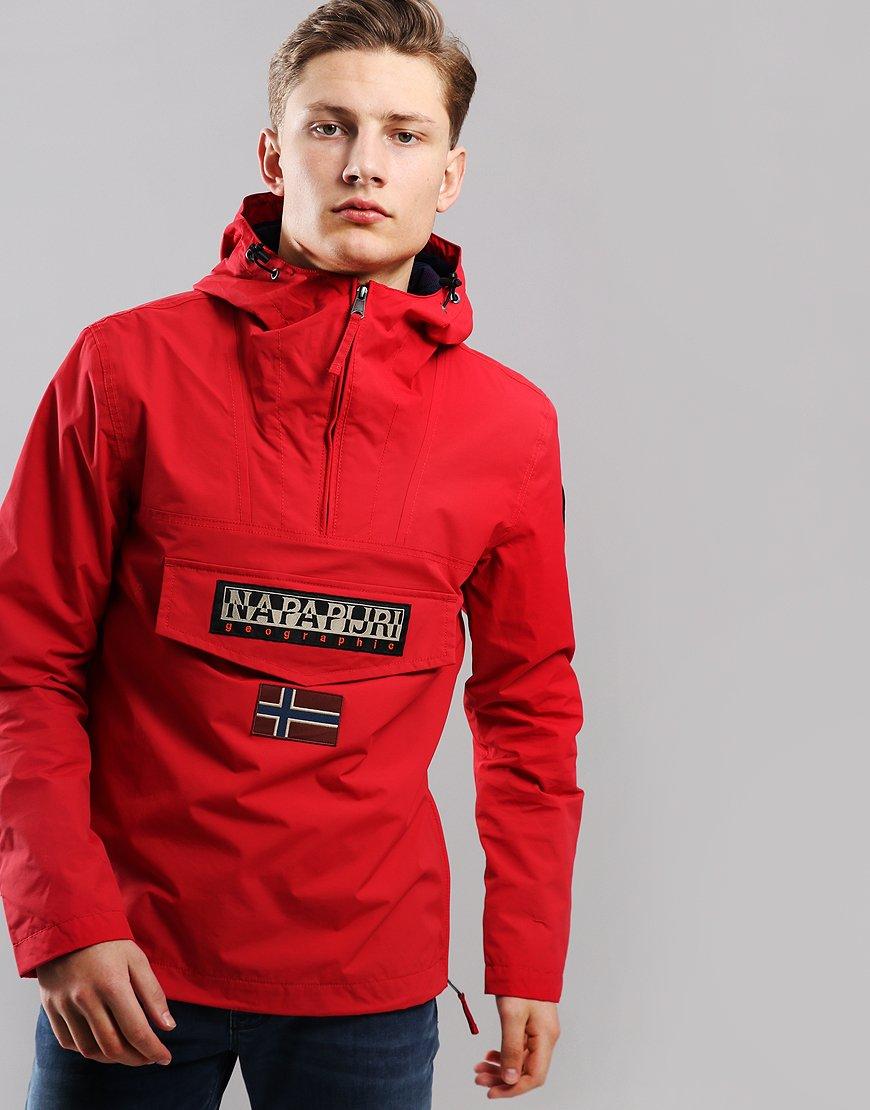 Napapijri Rainforest Summer Jacket True Red