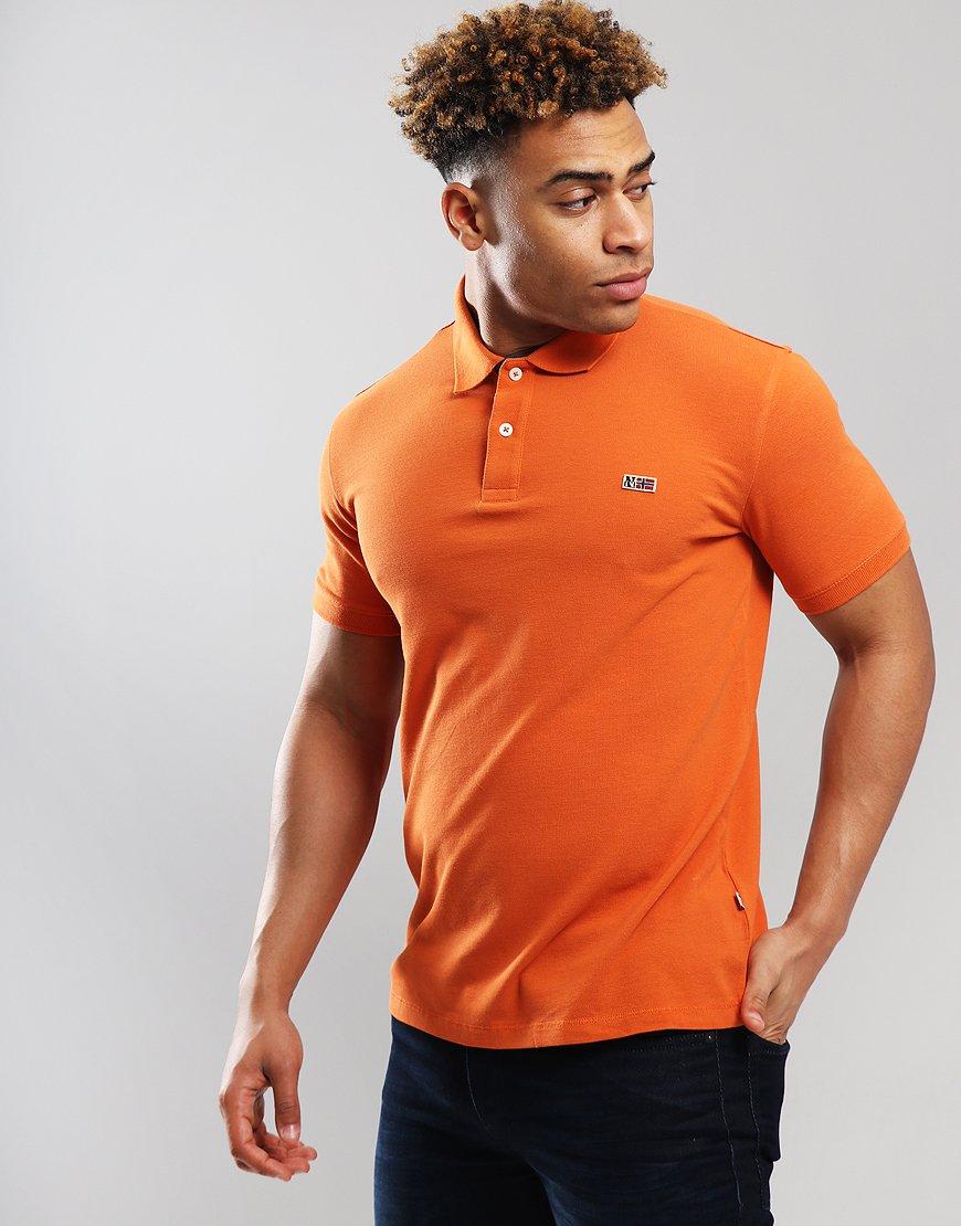 Napapijri Taly Polo Shirt Amber