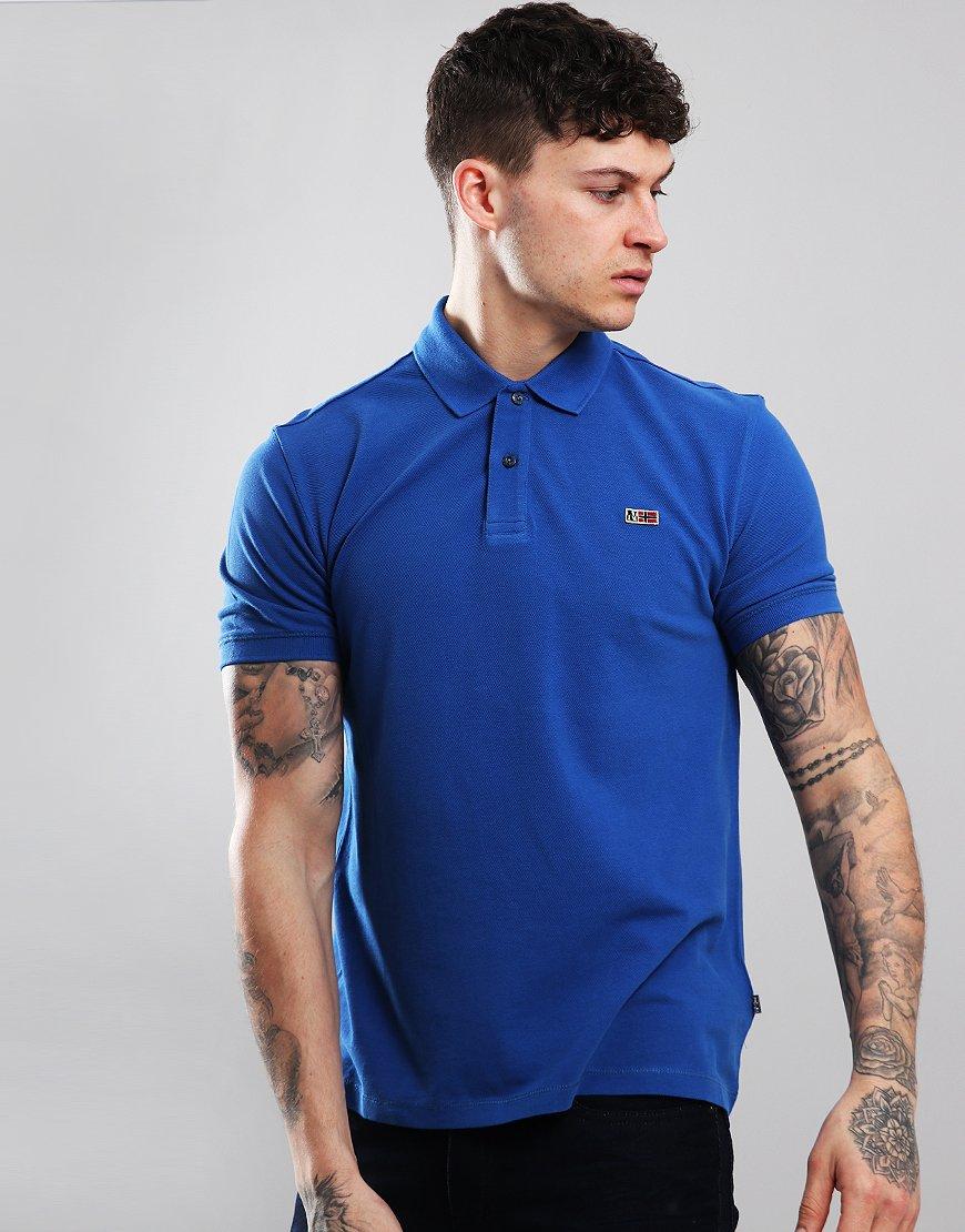 Napapijri Taly Polo Shirt Skydiver Blue