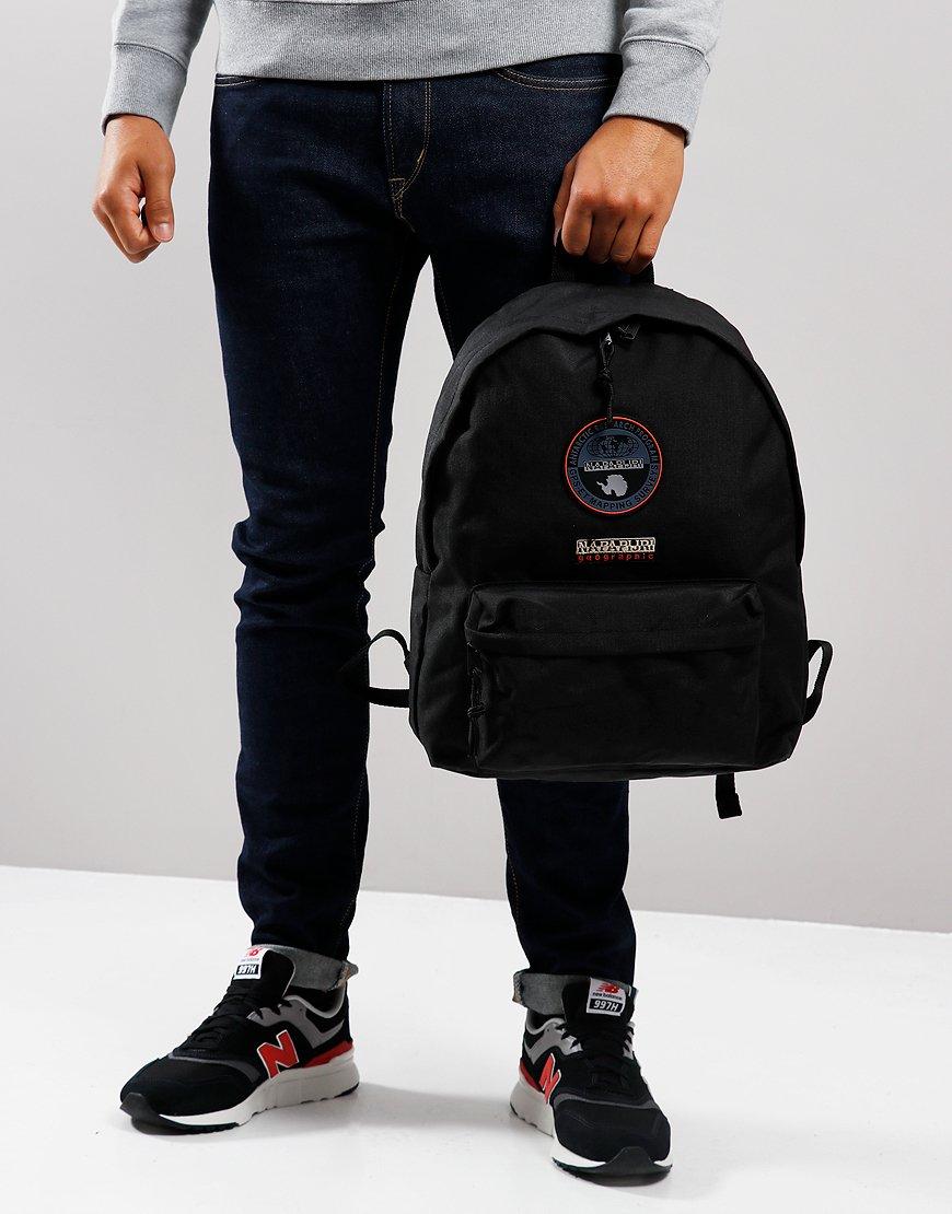 Napapijri Voyage Backpack Black - Terraces Menswear
