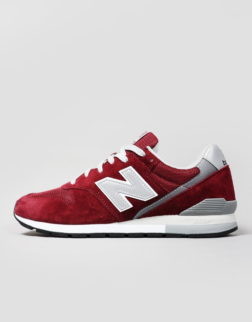 newest 2e474 55923 New Balance CM996BJ Sneakers Burgundy Silver