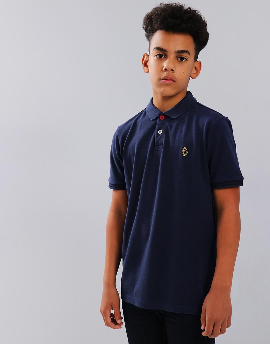 Luke Kids New Mead Polo Shirt Navy