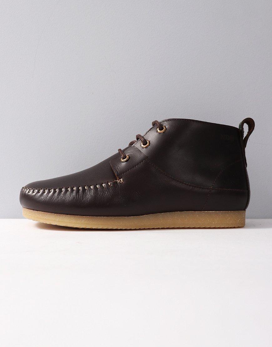 Nicholas Deakins Jordan Leather Boots Dark Brown