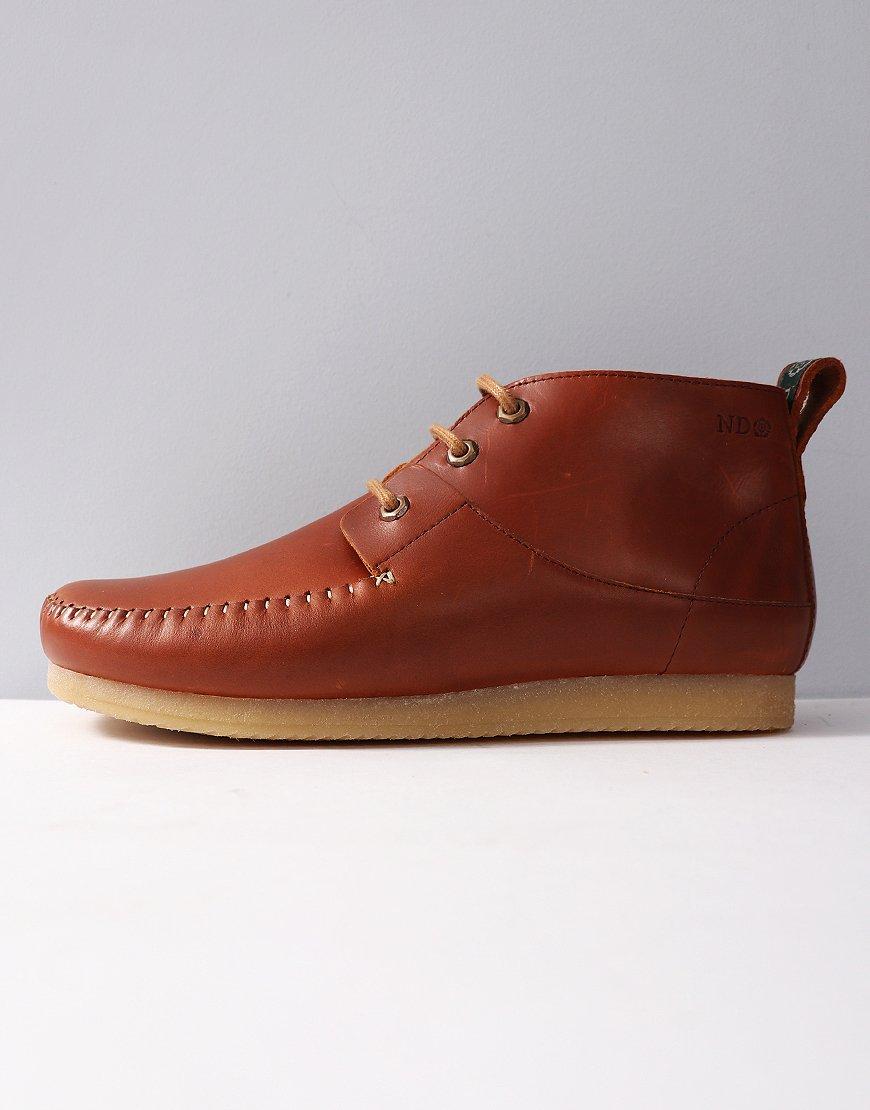 Nicholas Deakins Jordan Leather Boots Tan