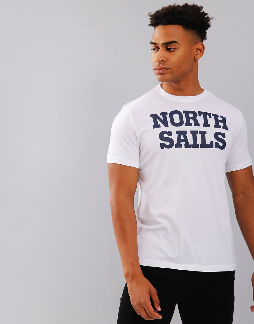 North Sails Graphic Printed T-Shirt White