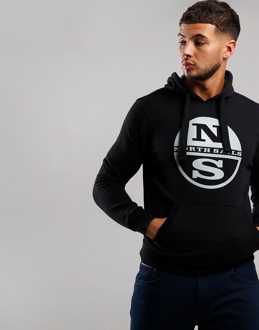 North Sails Hoodie Black