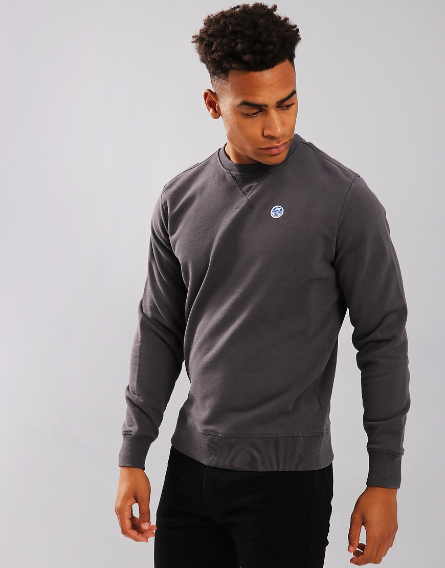 North Sails Crew Neck Logo Sweat Lead