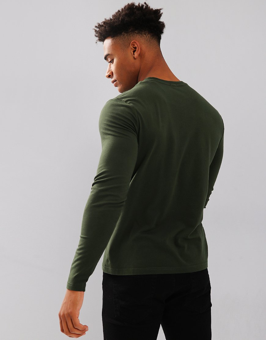 North Sails Long Sleeve Plain T-Shirt Kombu Green
