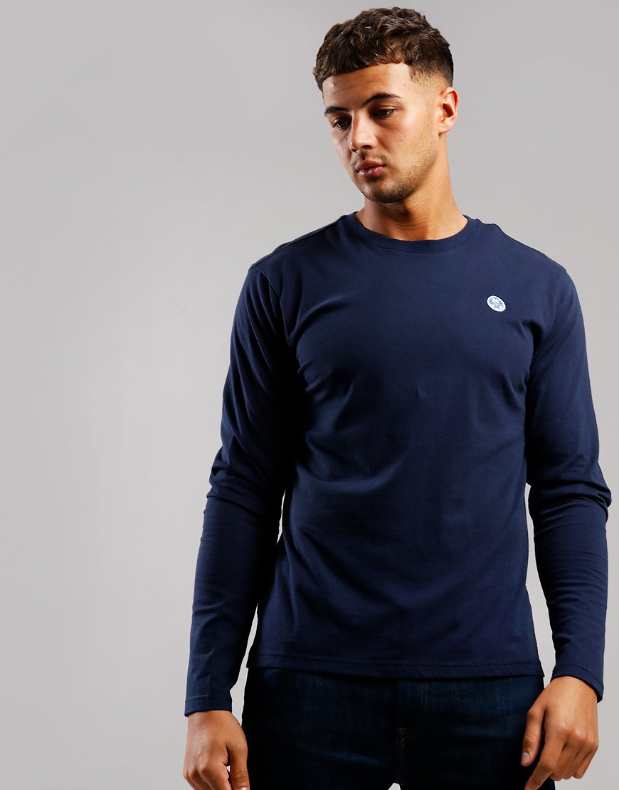 North Sails Long Sleeve T-Shirt Navy Blue