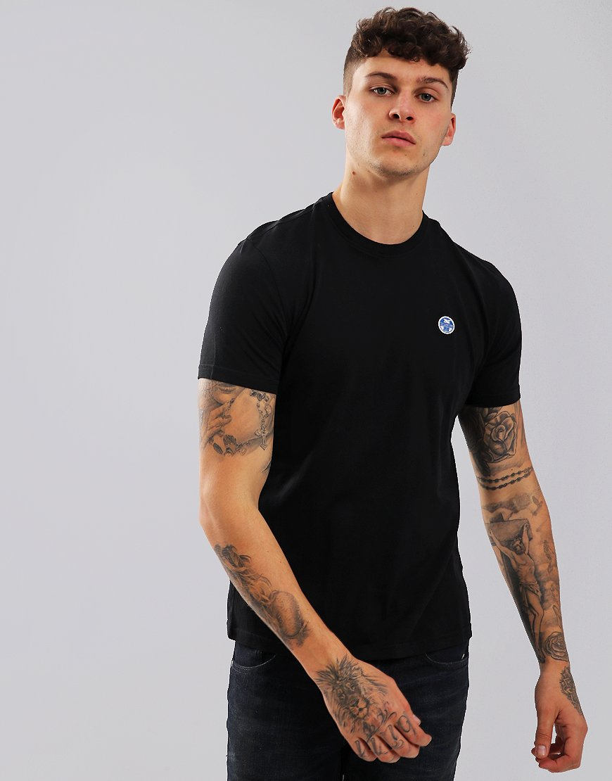 North Sails Plain T-Shirt Black