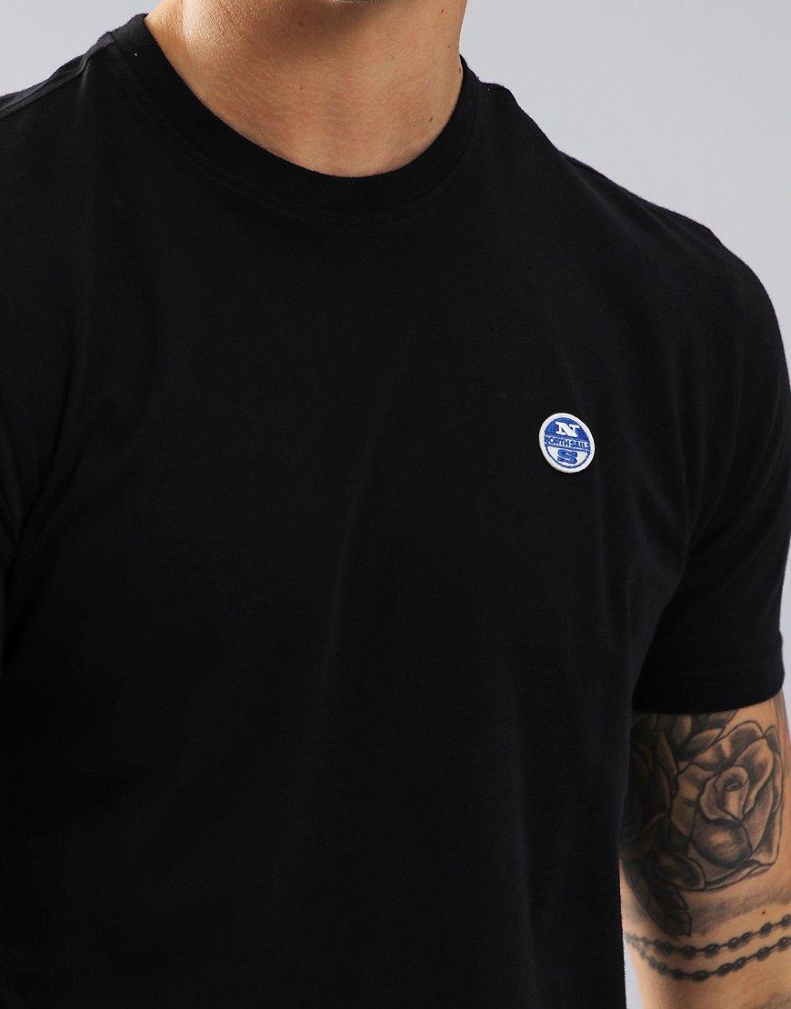 North Sails Plain T-Shirt Black